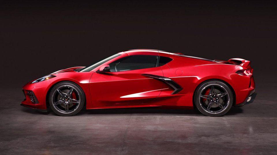 La nouvelle Corvette vient d'être dévoilée.
