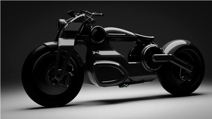 La Curtiss Zeus Electric Motorbike : l'un des deux roues les plus spectaculaires au monde