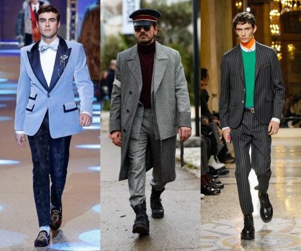 3 tendances de la mode masculine automne-hiver