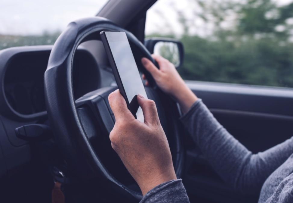 téléphone au volant