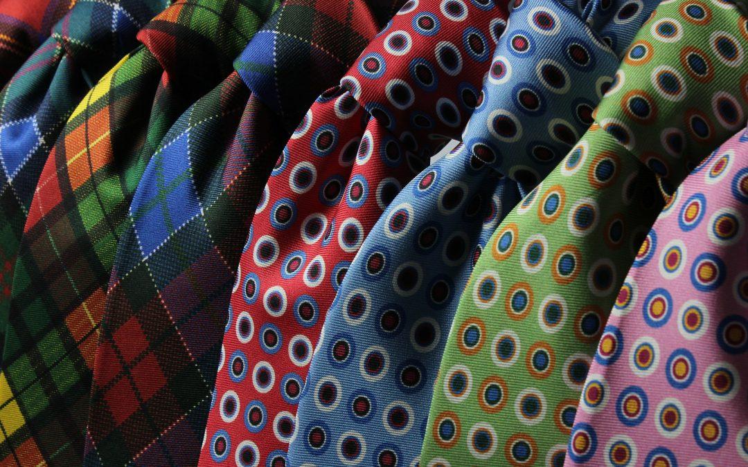 Histoire des pinces à cravate