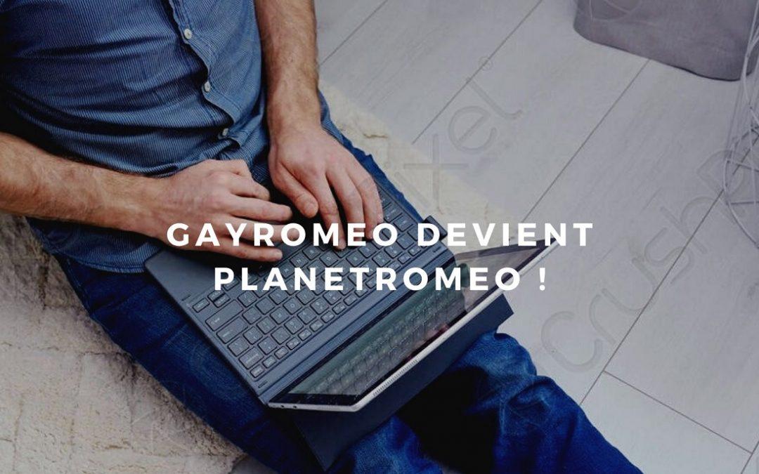 Gayromeo, le site de rencontre a changé de nom!